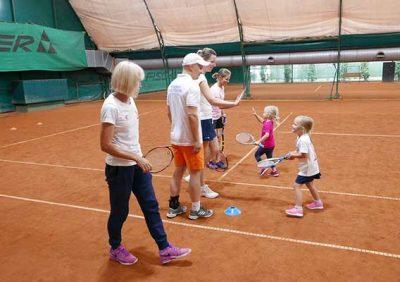 zdjęcie do tekstu pt.: Przedszkole tenisowe. Od 8go września.