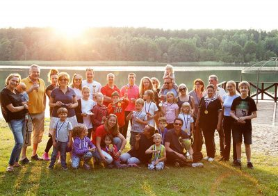 zdjęcie do tekstu pt.: Rodzinny Obóz Tenisowy 2020