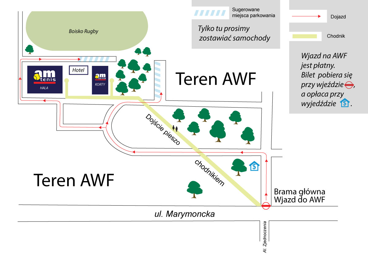 Obrazek z mapą dojścia